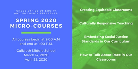 CHCCS Office of Equity Micro-Courses tickets