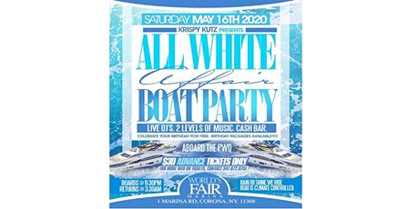 ALL WHITE AFFAIR BOAT PARTY tickets