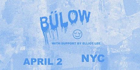 bülow with Elliot Lee tickets