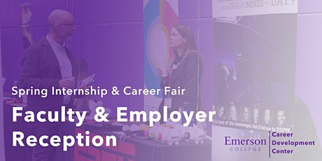 Faculty & Employer Reception (Spring 2020) tickets