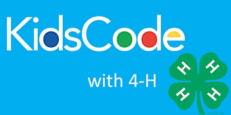 Kids Code with 4-H tickets