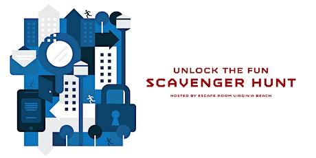 Unlock the FUN Scavenger Hunt by Escape Room Virginia Beach tickets