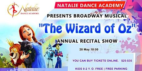 The Wizard of Oz presented by Natalie Dance Academy tickets