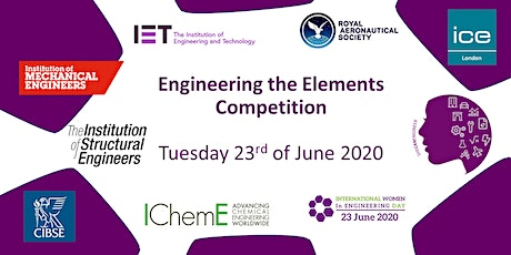 INWED2020 - Engineering the Elements STEM tickets