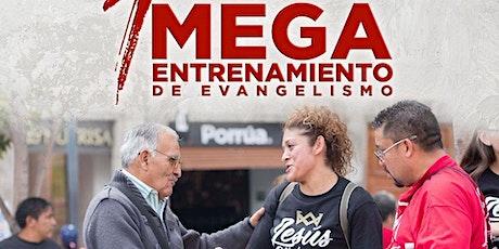 Mega Entrenamiento de Evangelismo Mixquiahuala entradas
