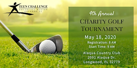 """4th Annual Teen Challenge """"Driving Away Addiction"""" Golf Tournament tickets"""
