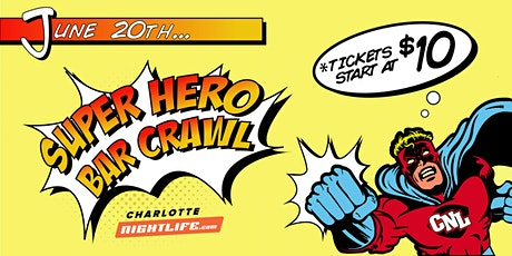 9th Annual SUPERHERO Bar Crawl  tickets
