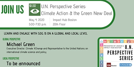 U.N. Perspective Series: Climate Action tickets