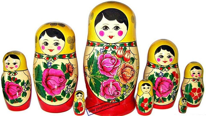 Matryoshka Painting Workshop (to be held in Russian language) image
