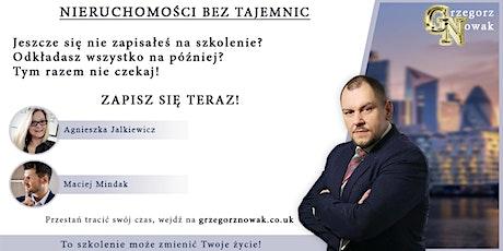 Nieruchomosci Bez Tajemnic Grzegorz Nowak tickets