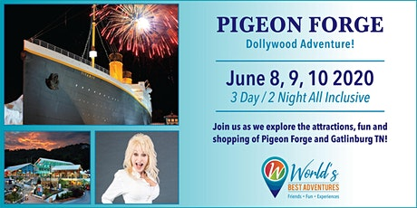 Pigeon Forge/Dollywood Adventure tickets