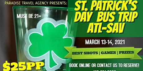 ST. PATRICK'S DAY TURNAROUND TRIP 2021! tickets