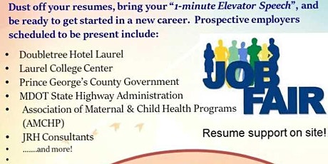 Career and Resource Fair tickets
