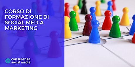 Corso di Formazione di Social Media Marketing - Online biglietti