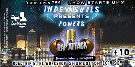 Indevisual presents Powers (Rap Attack) tickets