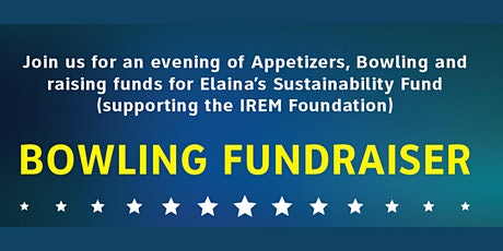 REIC Toronto - Bowling Fundraiser  for Elaina's Sustainability Fund tickets