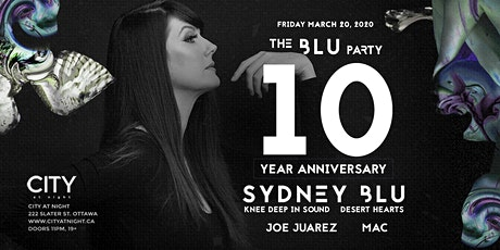 TO BE RESCHEDULED: The BLU Party at City At Night tickets