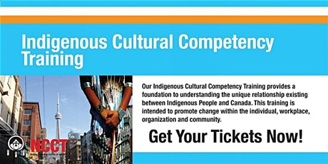 Indigenous Cultural Competency Training tickets