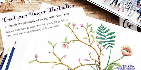 Illustration x Philosophy/ imagination: Egg tickets