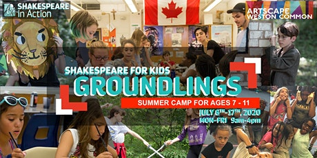 Shakespeare for Kids Summer Camp 2020 - The Groundlings (ages 7-11) tickets