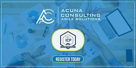 ICAgile Agile Fundamentals Course tickets