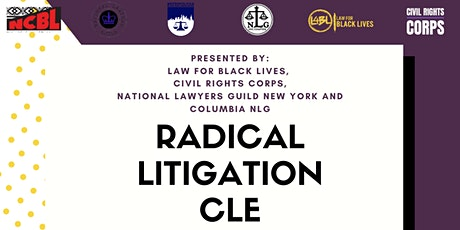 Radical Litigation CLE tickets
