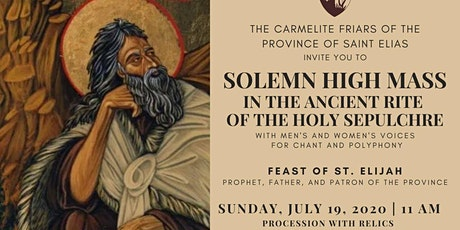 Solemn High Mass in the Ancient Rite of the Holy Sepulchre tickets