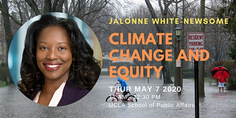 Jalonne White-Newsome - Climate Change and Equity tickets