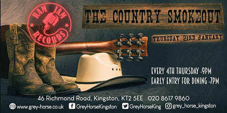 The Country Smokeout - Dr Bluegrass and the Illbilly 8 tickets