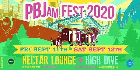 PBJam FEST 2020!! (2-day event at Nectar + High Dive) tickets