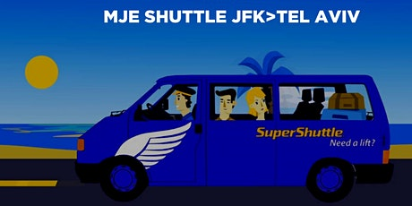 Israel 2020 Airport Shuttle to JFK - PICKUP 9:20PM SAT AUGUST 1 tickets