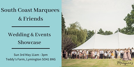South Coast Marquees & Friends | Wedding & Events Supplier Showcase Open Day tickets
