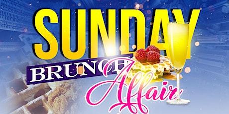 Sunday Brunch Affair tickets