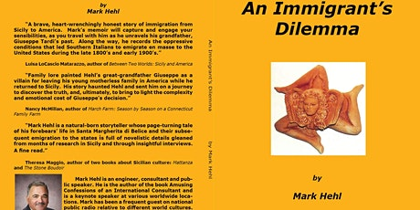An Immigrant's Dilemma: Book Presentation & Signing by Mark Hehl tickets