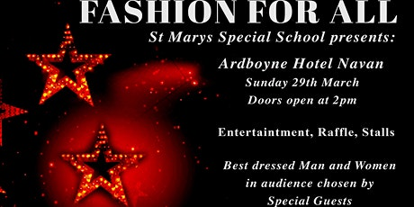 Fashion For All tickets