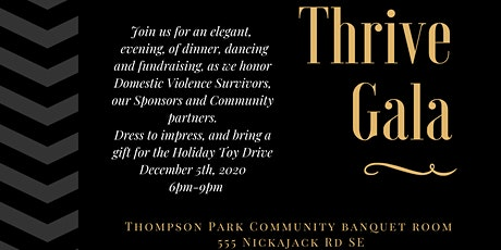 The Inaugural Thrive Gala:  An Elegant Evening Honoring Survivors tickets