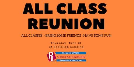 All Class Reunion tickets