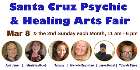 Santa Cruz Psychic and Healing Arts Fair tickets