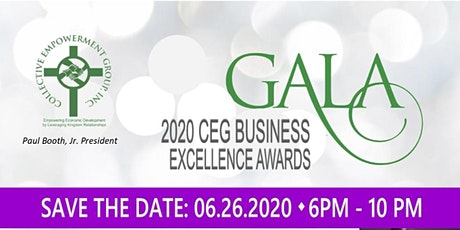 CEG 2020 Business Excellence Awards Gala tickets
