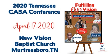 CANCELED 2020 Tennessee CASA Conference  tickets