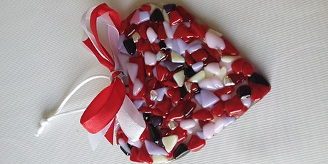 Fused Glass Hearts/Hangers/Coasters tickets