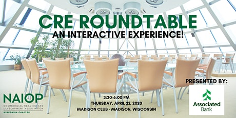 NAIOP Wisconsin 2020 CRE Roundtable  tickets