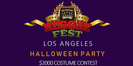 Reggae Fest LA Halloween Party $2000 Costume Contest at Globe Theater tickets