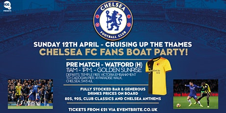 Chelsea FC Fan Events Boat Party tickets