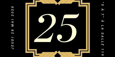 5 à 7 des 25 ans de la CDC -HY/ Corporation de développement communautaire billets