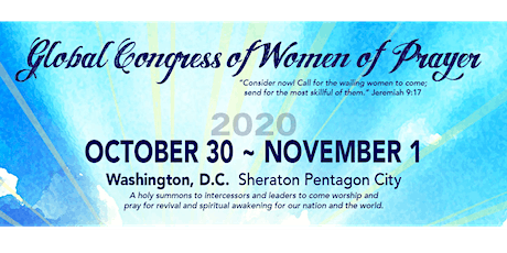 Global Congress of Women of Prayer tickets