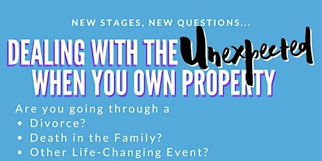 How to Prepare for the Unexpected: Death and Divorce tickets