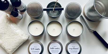 Hand Poured Candle Making Class tickets