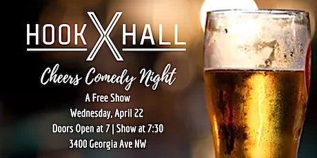 April Cheers Comedy Night tickets