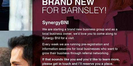 Synergy BNI - Business Networking at it's best - Currently meeting online tickets